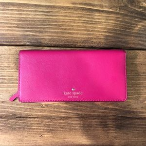 Kate Spade Saffiano Leather Snap Wallet